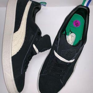 NWOB Puma X Big Sean Black Suede Sneakers